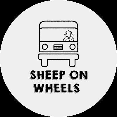 Logo Sheep On Wheels